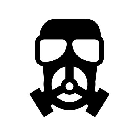 nuclear mask isolated icon vector illustration design