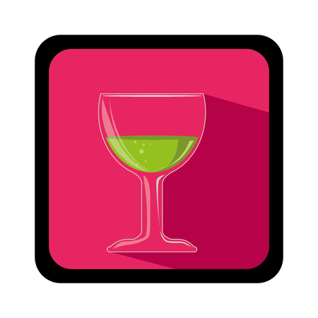 wine cup isolated icon vector illustration design Illustration