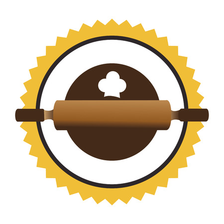 bake sale sign: bakery shop emblem icon vector illustration design