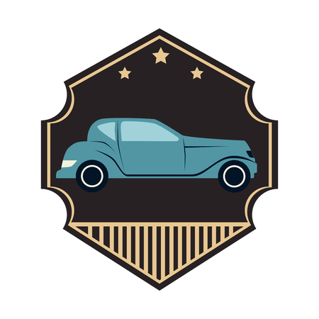car: repair car service emblem vector illustration design