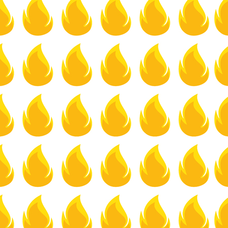 color pattern with flame close up vector illustration