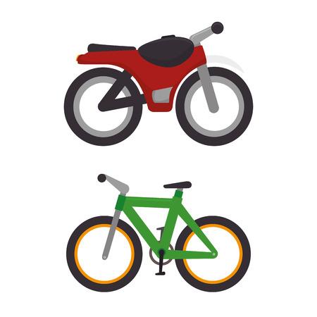 Beförderungsmittel, Icons Vektor-Illustration, Design,
