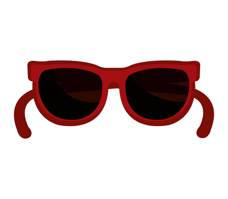fashion design: fashion sunglasses isolated icon vector illustration design