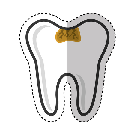 dental healthcare isolated icon vector illustration design