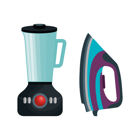 blender: home appliances tech icon vector illustration design