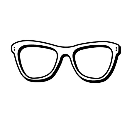 fashion design: fashion glasses summer icon vector illustration design Illustration