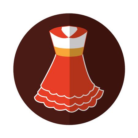 Typical spanish costume icon vector illustration design
