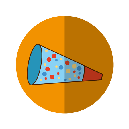 party cornet isolated icon vector illustration design Illustration