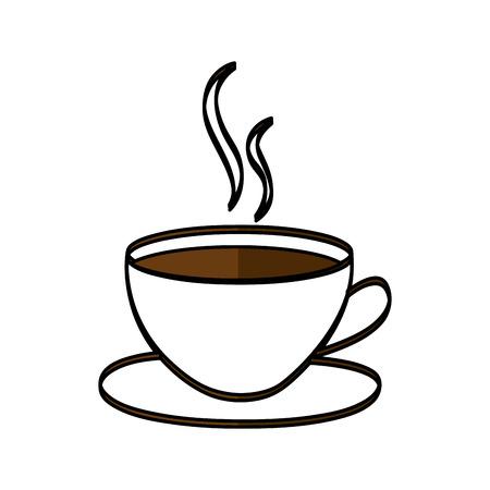 コロンビアのコーヒー カップ ドリンク ベクトル イラスト デザイン  イラスト・ベクター素材