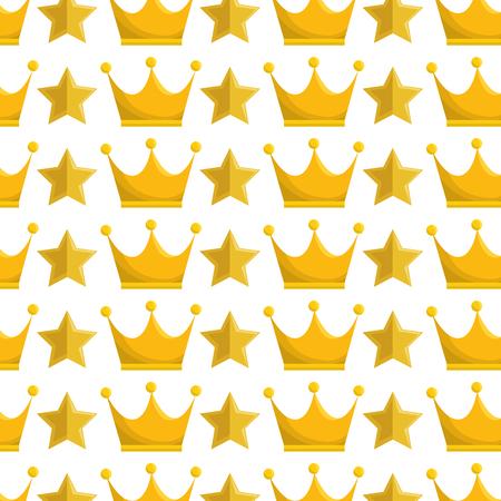crown queen gold icon vector illustration design