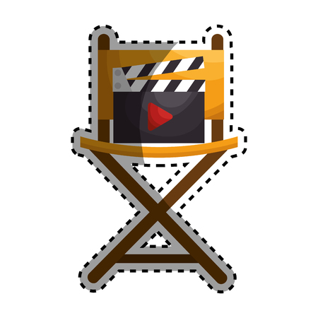 映画興行は、ベクトル イラスト デザイン アイコンを設定
