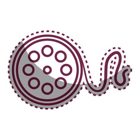 video tape record icon vector illustration design