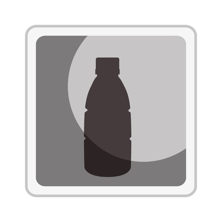 beverage bottle isolated icon vector illustration design