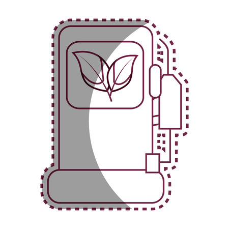 station service ecology symbol vector illustration design Illustration