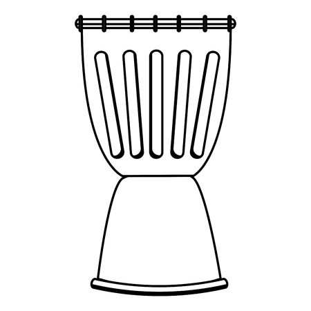 rhythm rhythmic: drum instrument musical icon vector illustration design