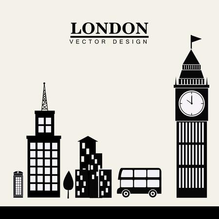 metropolitan: City design over white background, vector illustration