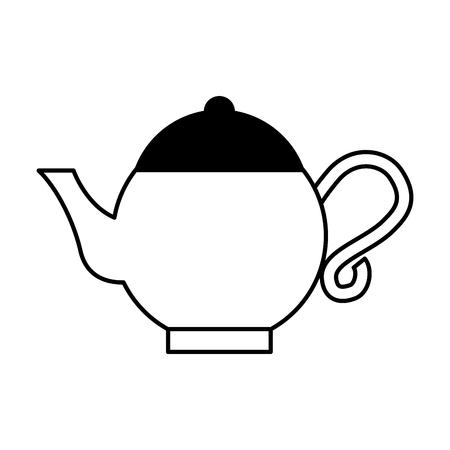 teapot asian isolated icon vector illustration design Illustration