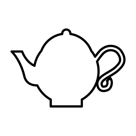 teapot asian isolated icon vector illustration design Illustration