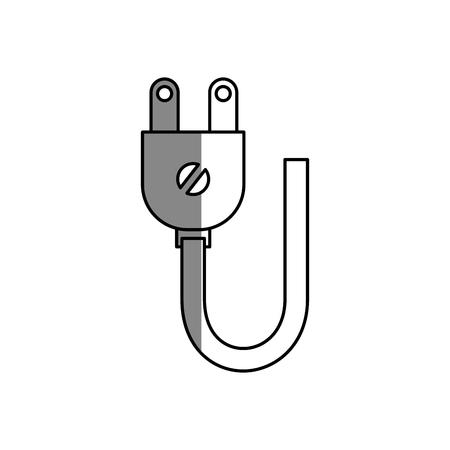 energy plug isolated icon vector illustration design