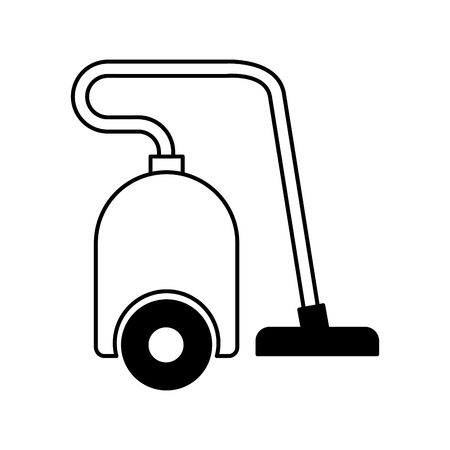 vacum home appliance icon vector illustration design