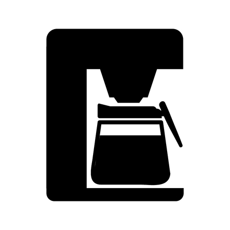 coffee machine appliance isolated icon vector illustration design