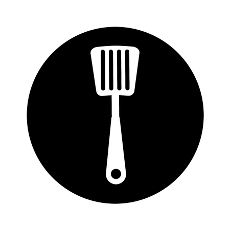 spatula kitchen cutlery isolated icon vector illustration design Illustration
