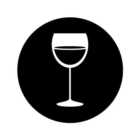 best wine cup glass vector illustration design Reklamní fotografie - 74330002