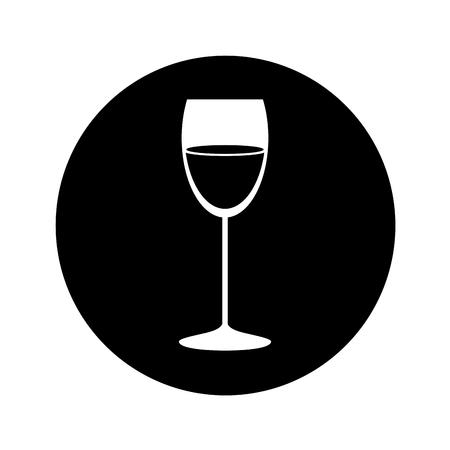best wine cup glass vector illustration design Reklamní fotografie - 74330009
