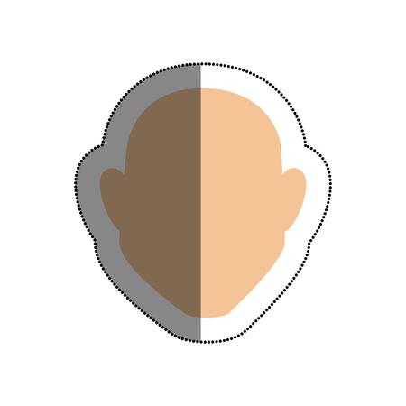 man avatar character icon vector illustration design Illustration