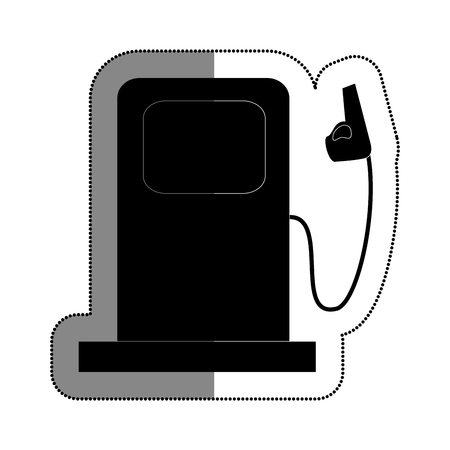 station service isolated icon vector illustration design