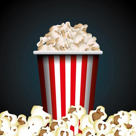 cinema entertainment elements icon vector illustration design Illustration