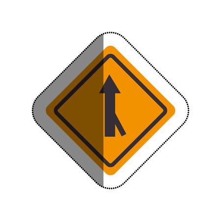 road traffic signal with arrow vector illustration design Illustration