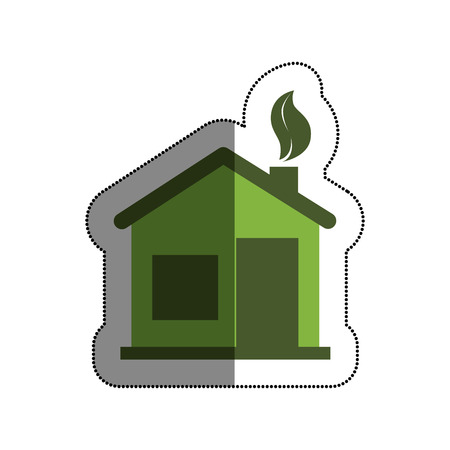 home ecology isolated icon vector illustration design