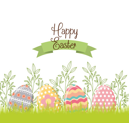 easter egg paint icon vector illustration design Illustration