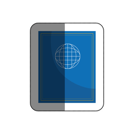 Passport document isolated icon vector illustration design 向量圖像