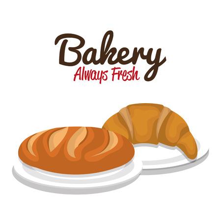 produits céréaliers: delicious bread product icon vector illustration design