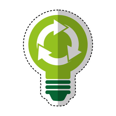 recycle symbol isolated icon vector illustration design