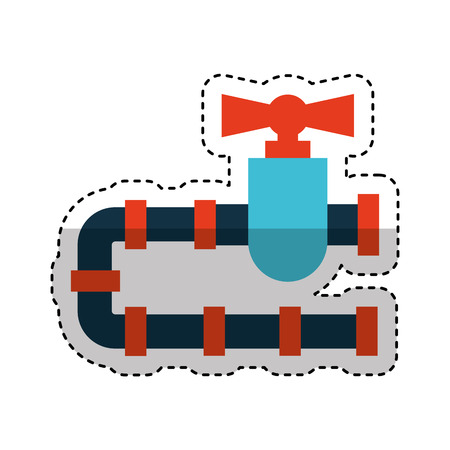 pipeline tap oil icon vector illustration design Reklamní fotografie - 74816727