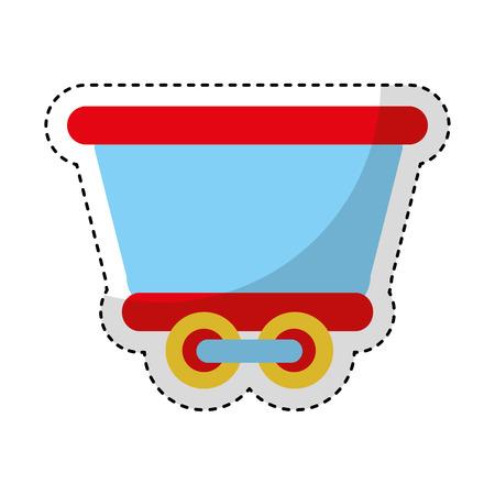 train vehicle isolated icon vector illustration design