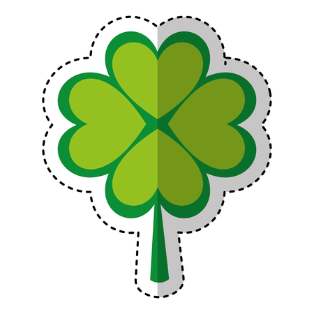 clover leaf plant icon vector illustration design Stock Vector - 74818605