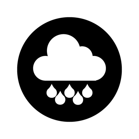 雨天気アイコン ベクトル イラスト デザインを分離しました。
