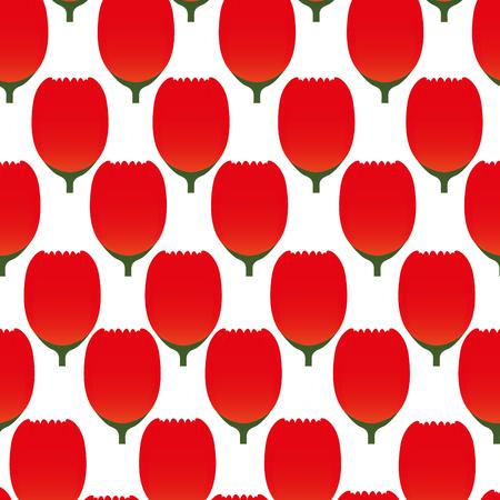 petal: cute flowers pattern background vector illustration design