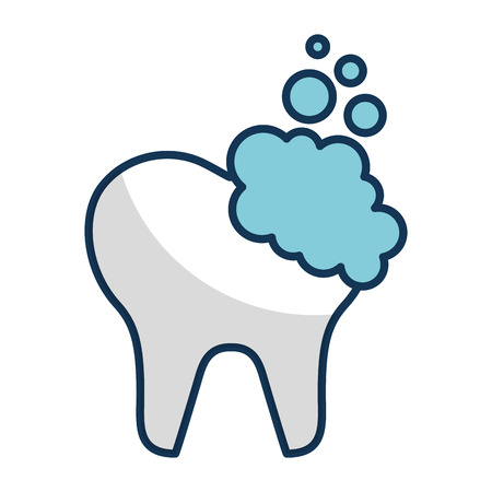 tooth clean isolated icon vector illustration design