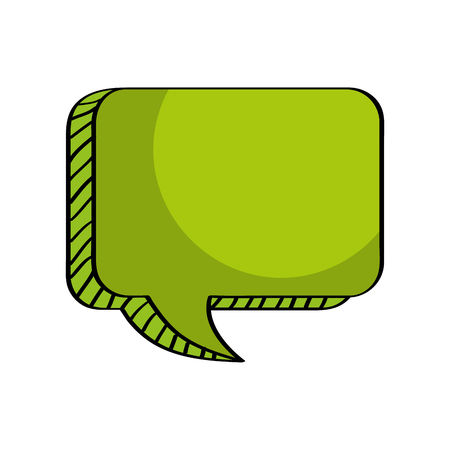 Message talk, box vector empty, abstcact vector