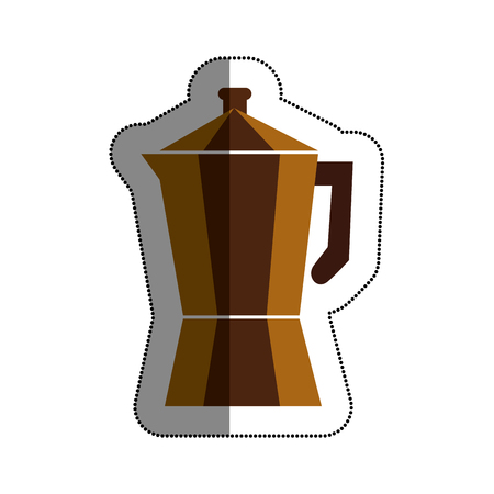 kitchen appliances: kettle kitchen utensil icon vector illustration design Illustration