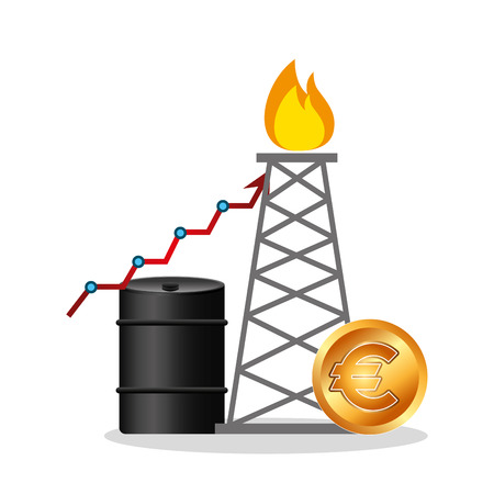 oil industry business icons vector illustration design