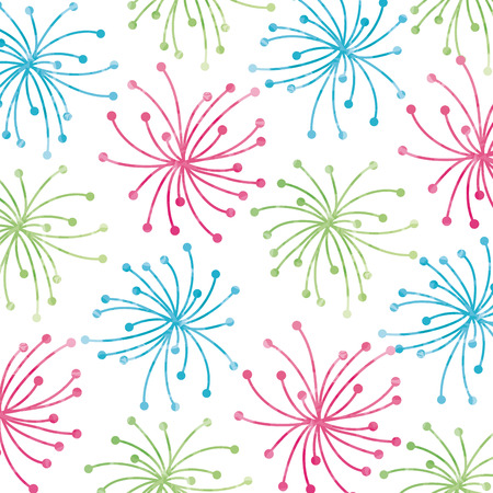 beautiful flowers background. colorful design. vector illustration