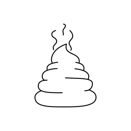 Pet litter isolated icon vector illustration design