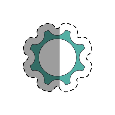 rackwheel: industry wheel cog vector icon, design icon