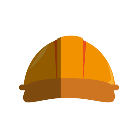 helmet mechanic isolated icon vector illustration design Ilustrace